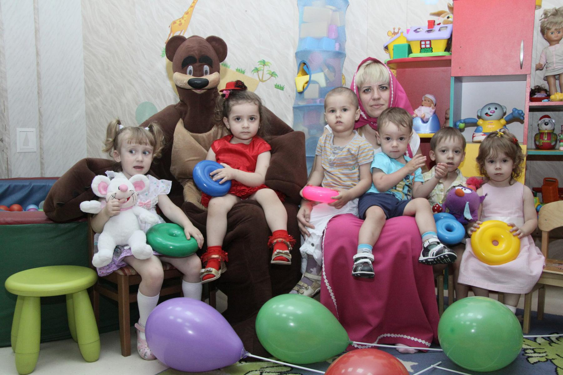 Сценарий детского праздника для малышей
