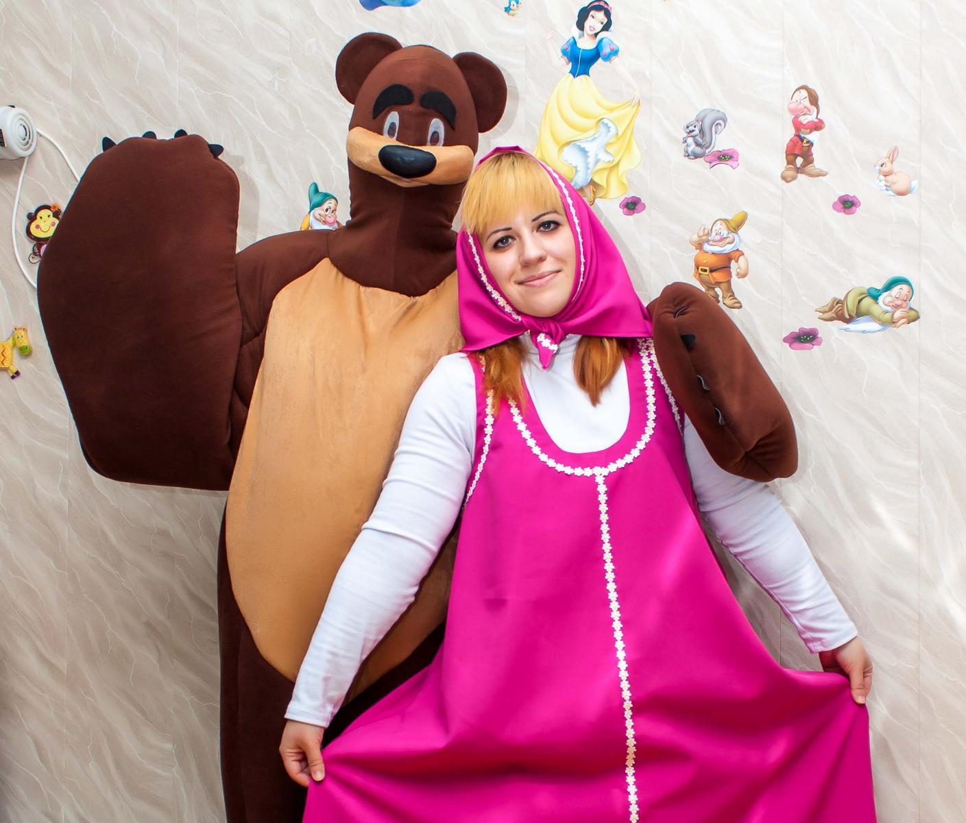 история о знакомстве маши и медведя