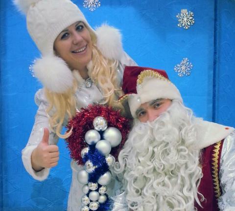 Необыкновенные приключения Снеговика и Снегурочки