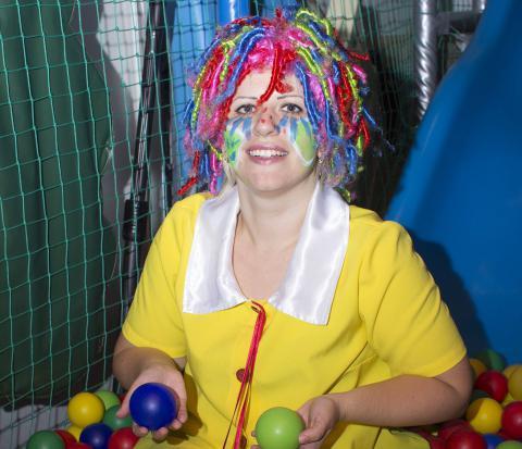 В гостях у Клоуна и Принцессы сценарий дня рождения