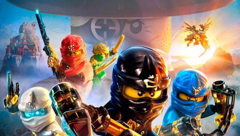 LEGO Ninjago (Лего Ниндзяго): мастера Кружитцу и Сенсей Ву