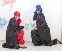 ниндзя сценарий праздника